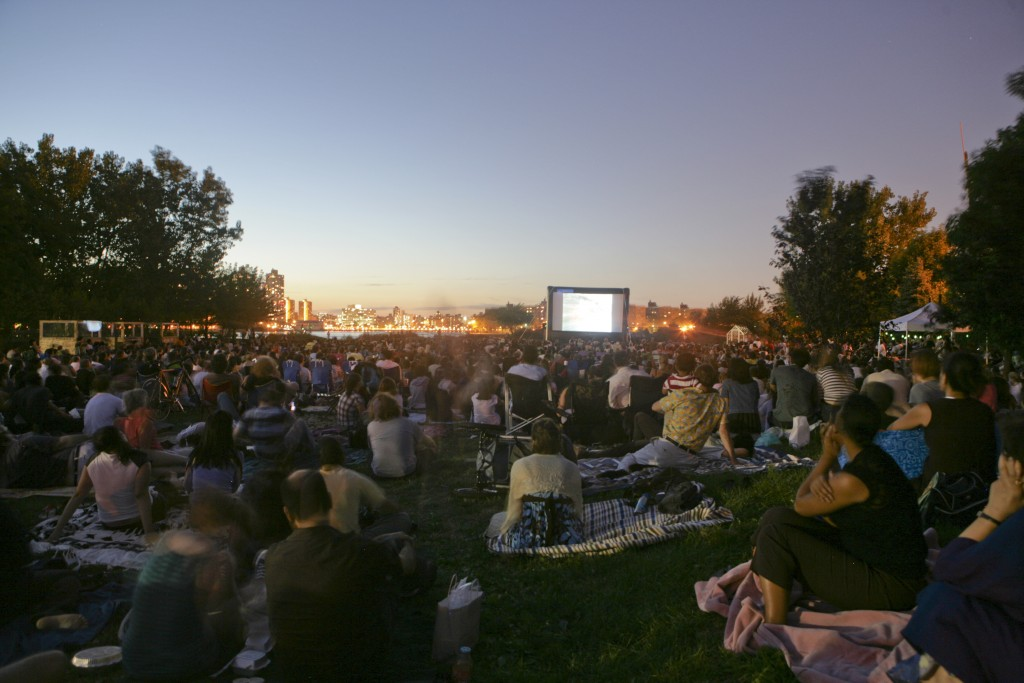4. Outdoor Cinema Socrates Sculpture Park